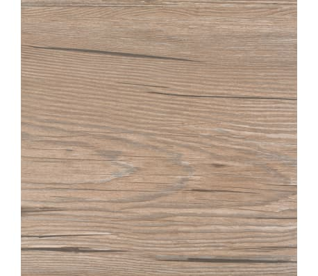 vidaXL PVC grindų plokštės, prilipdomos, 5,02m², 2mm, ąžuolo ruda[5/8]
