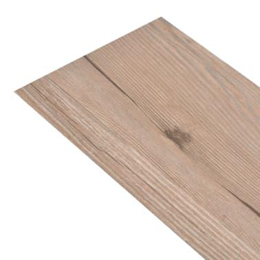 vidaXL Self-adhesive PVC Flooring Planks 54 ft² Oak Brown[2/8]