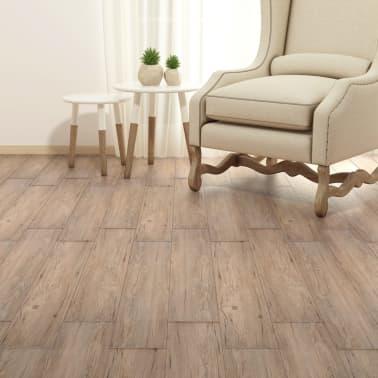 vidaXL Self-adhesive PVC Flooring Planks 54 ft² Oak Brown[4/8]
