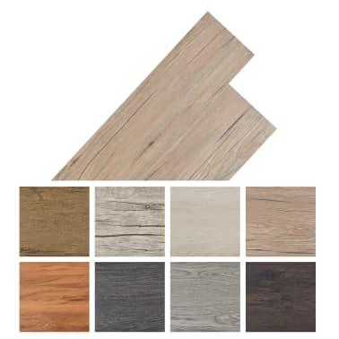vidaXL Self-adhesive PVC Flooring Planks 54 ft² Oak Brown[8/8]