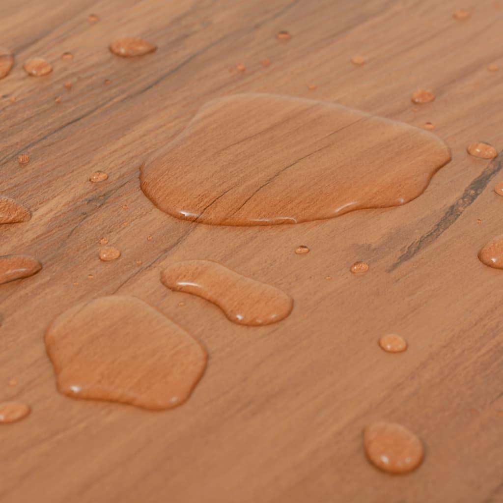 vidaXL Vloerplanken zelfklevend 5,02 m² 2 mm PVC natuurlijke iep