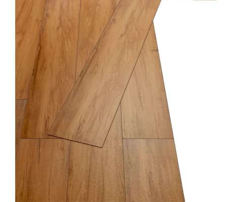 vidaXL Self-adhesive PVC Flooring Planks 54 ft² Elm Nature[4/8]