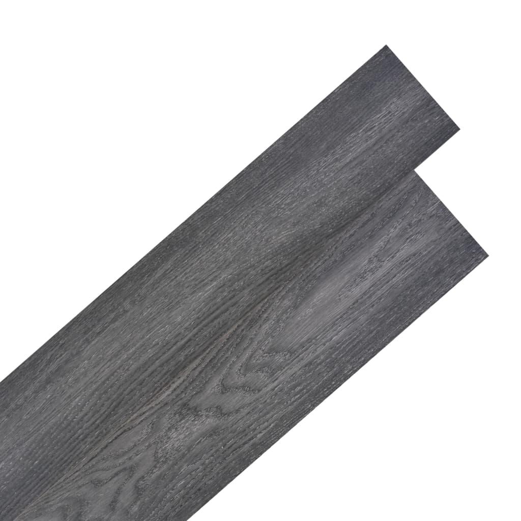 vidaXL Samolepící podlahová krytina PVC 5,02 m² 2 mm černobílá