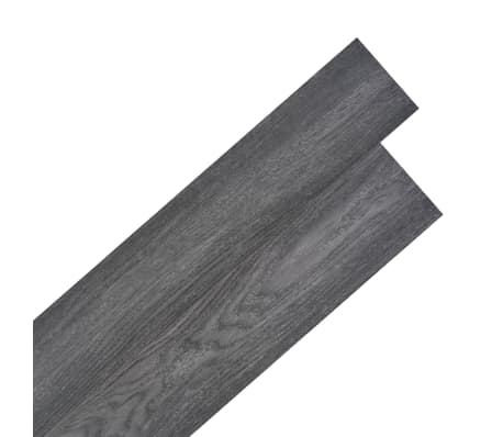 vidaXL Self-adhesive PVC Flooring Planks 54 ft² Black and White[1/8]