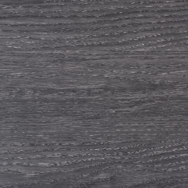 vidaXL Self-adhesive PVC Flooring Planks 54 ft² Black and White[6/8]