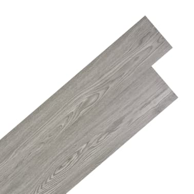 vidaXL Self-adhesive PVC Flooring Planks 54 ft² Dark Gray[1/8]