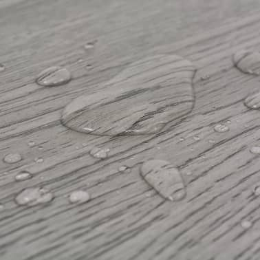 vidaXL Self-adhesive PVC Flooring Planks 54 ft² Dark Gray[7/8]