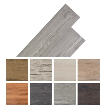 vidaXL Self-adhesive PVC Flooring Planks 54 ft² Dark Gray[8/8]
