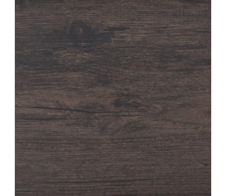 vidaXL Självhäftande PVC-golvplankor 5,02 m² mörkgrå ek[5/8]