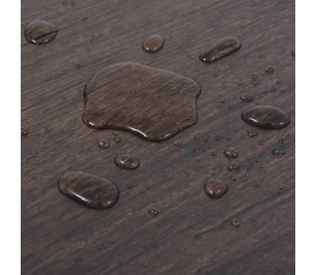vidaXL Självhäftande PVC-golvplankor 5,02 m² mörkgrå ek[7/8]