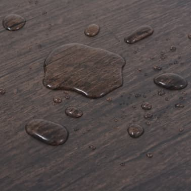 vidaXL Självhäftande PVC-golvplankor 5,02 m² mörkbrun[7/8]