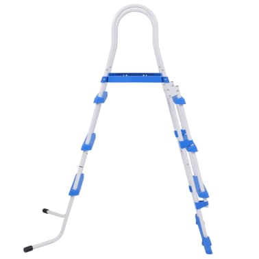 vidaXL Above-Ground Pool Safety Ladder with 3 Steps 107 cm[3/7]