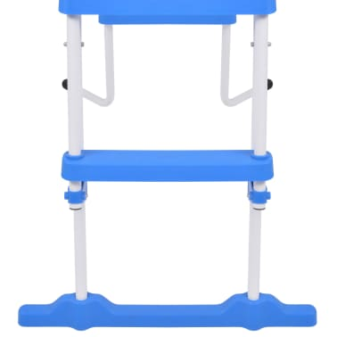 vidaXL Above-Ground Pool Safety Ladder with 3 Steps 107 cm[6/7]