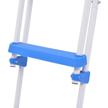 vidaXL Above-Ground Pool Safety Ladder with 3 Steps 107 cm[7/7]