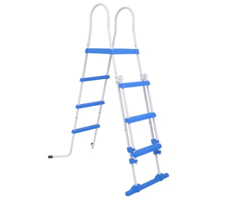 vidaXL Above-Ground Pool Safety Ladder with 3 Steps 122 cm