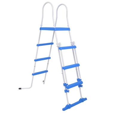 "vidaXL Above-Ground Pool Safety Ladder with 3 Steps 48.0""[1/6]"