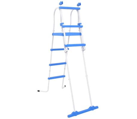 "vidaXL Above-Ground Pool Safety Ladder with 3 Steps 48.0""[2/6]"