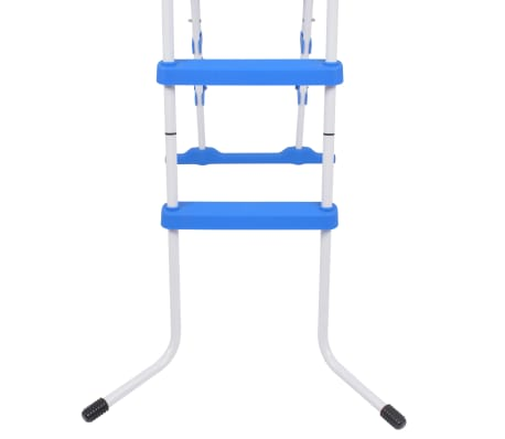 "vidaXL Above-Ground Pool Safety Ladder with 3 Steps 48.0""[5/6]"