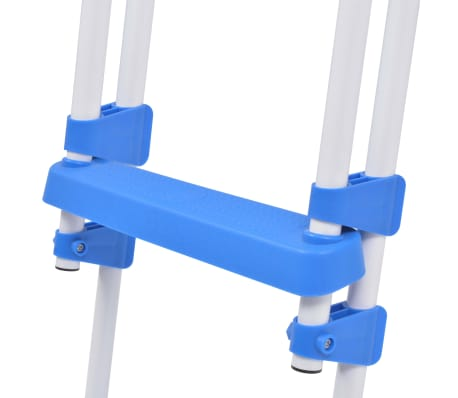 "vidaXL Above-Ground Pool Safety Ladder with 3 Steps 48.0""[6/6]"