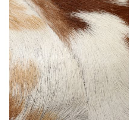 vidaXL Suoliukas, tikra ožkos oda, 120x30x45 cm[6/15]