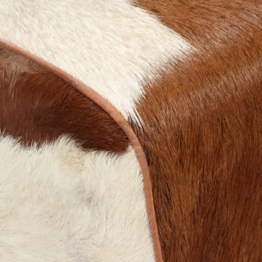 vidaXL Tabure od prave kozje kože 40 x 30 x 45 cm[3/15]
