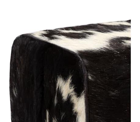 vidaXL Suoliukas, tikra ožkos oda, 160x28x50 cm[5/16]