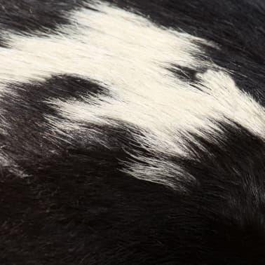 vidaXL Suoliukas, tikra ožkos oda, 160x28x50 cm[6/16]