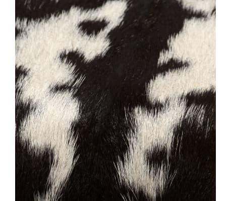 vidaXL Bancă din piele naturală de capră 120x30x45 cm[10/16]