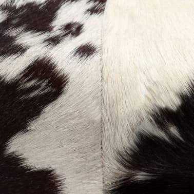 vidaXL Taburetė, tikra ožkos oda, 60x30x50 cm[6/15]