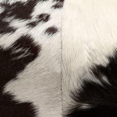 vidaXL Taburetė, tikra ožkos oda, 40x30x45 cm[6/15]