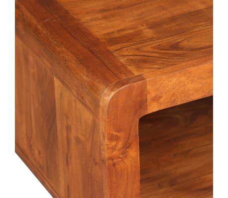 vidaXL Kavos staliukas, mas. med. su dalbergijos apd., 90x50x30cm[7/11]