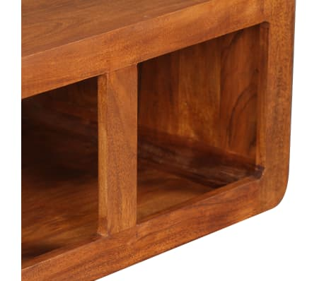 vidaXL Kavos staliukas, mas. med. su dalbergijos apd., 90x50x30cm[9/11]
