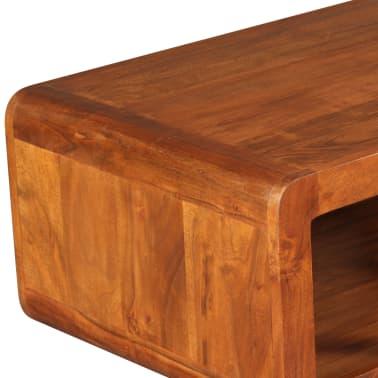 vidaXL Kavos staliukas, mas. med. su dalbergijos apd., 90x50x30cm[8/11]