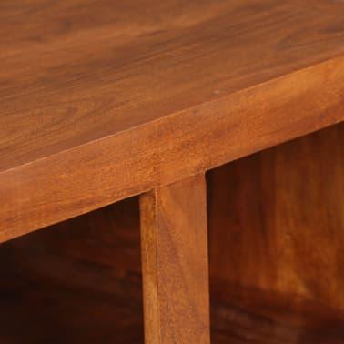 vidaXL Kavos staliukas, mas. med. su dalbergijos apd., 90x50x30cm[10/11]