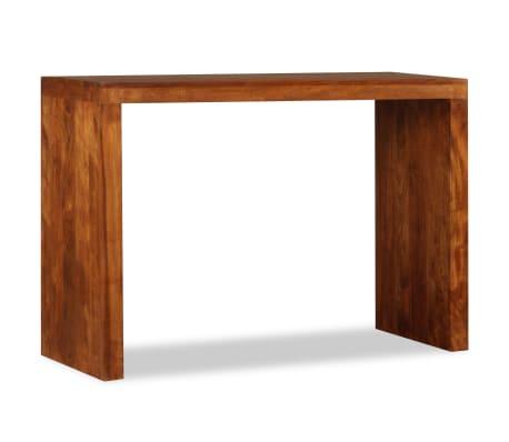 vidaXL Konsolinis staliukas, rausv. dalbergijos mediena, 110x40x76cm[3/10]