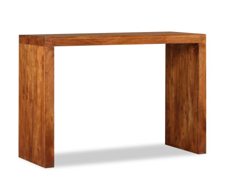 vidaXL Konsolinis staliukas, rausv. dalbergijos mediena, 110x40x76cm[4/10]