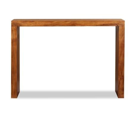 vidaXL Konsolinis staliukas, rausv. dalbergijos mediena, 110x40x76cm[6/10]