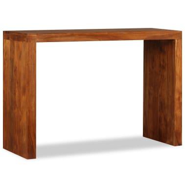 vidaXL Konsolinis staliukas, rausv. dalbergijos mediena, 110x40x76cm[2/10]