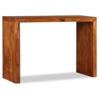 vidaXL Konsolinis staliukas, rausv. dalbergijos mediena, 110x40x76cm[5/10]