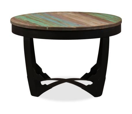vidaxl couchtisch altholz massiv beistelltisch kaffeetisch wohnzimmertisch ebay. Black Bedroom Furniture Sets. Home Design Ideas