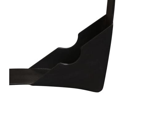 vidaXL Šoninis staliukas, masyvi perdirbta mediena, 60x40 cm[10/11]