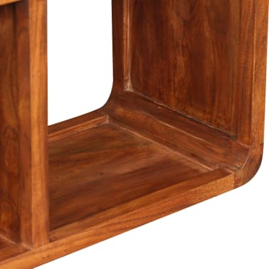 "vidaXL TV Cabinet Solid Wood with Sheesham Finish 47.2""x11.8""x15.7""[8/11]"