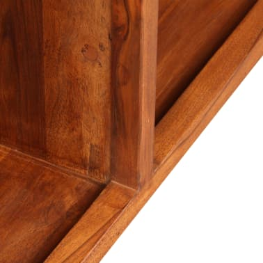 "vidaXL TV Cabinet Solid Wood with Sheesham Finish 47.2""x11.8""x15.7""[10/11]"