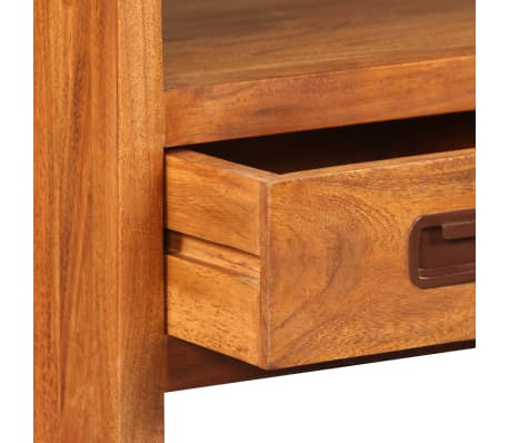 vidaXL Tv-meubel 90x30x55 cm massief hout met sheesham afwerking[10/11]