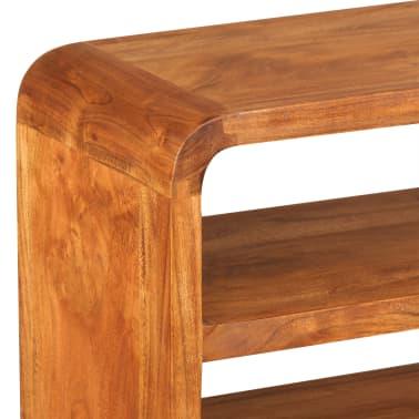 vidaXL Tv-meubel 90x30x55 cm massief hout met sheesham afwerking[8/11]