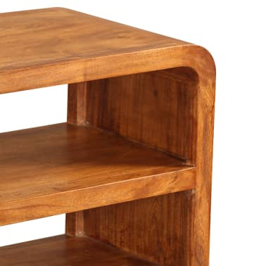vidaXL Tv-meubel 90x30x55 cm massief hout met sheesham afwerking[9/11]
