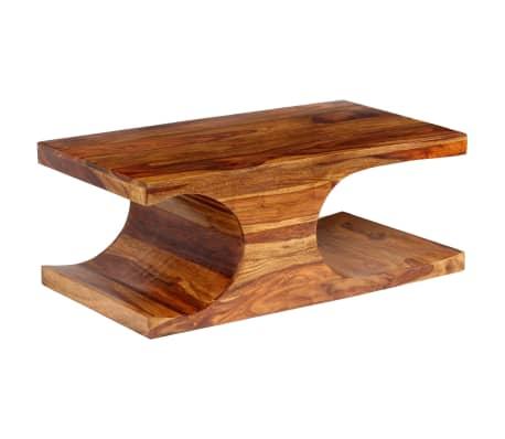 Acheter Vidaxl Table Basse Bois Massif De Sesham 90 X 50 X 35 Cm Pas