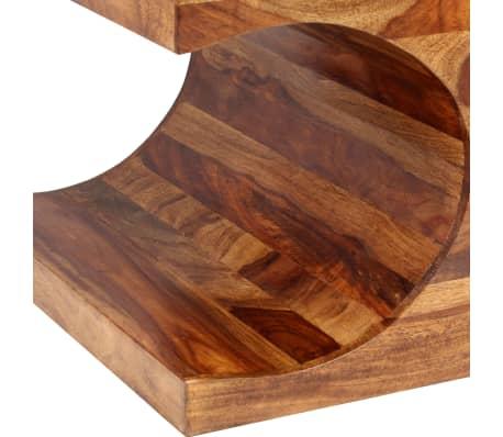 vidaXL Kavos staliukas, rausvosios dalbergijos med., 90x50x35cm[3/13]