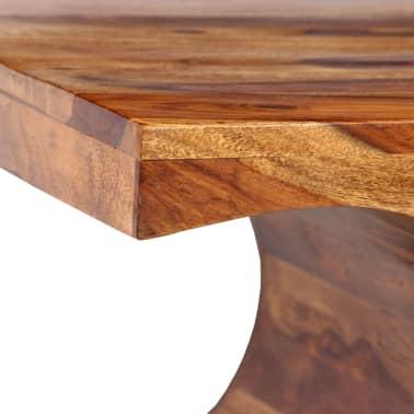 vidaXL Kavos staliukas, rausvosios dalbergijos med., 90x50x35cm[4/13]