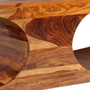 vidaXL Kavos staliukas, rausvosios dalbergijos med., 90x50x35cm[5/13]